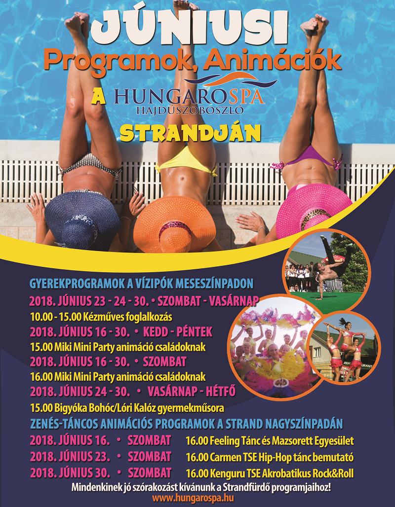 Júniusi programok Strand 2018 800