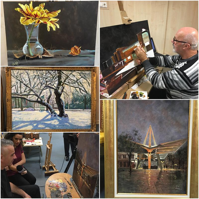 Festmények 2 mozaik 800