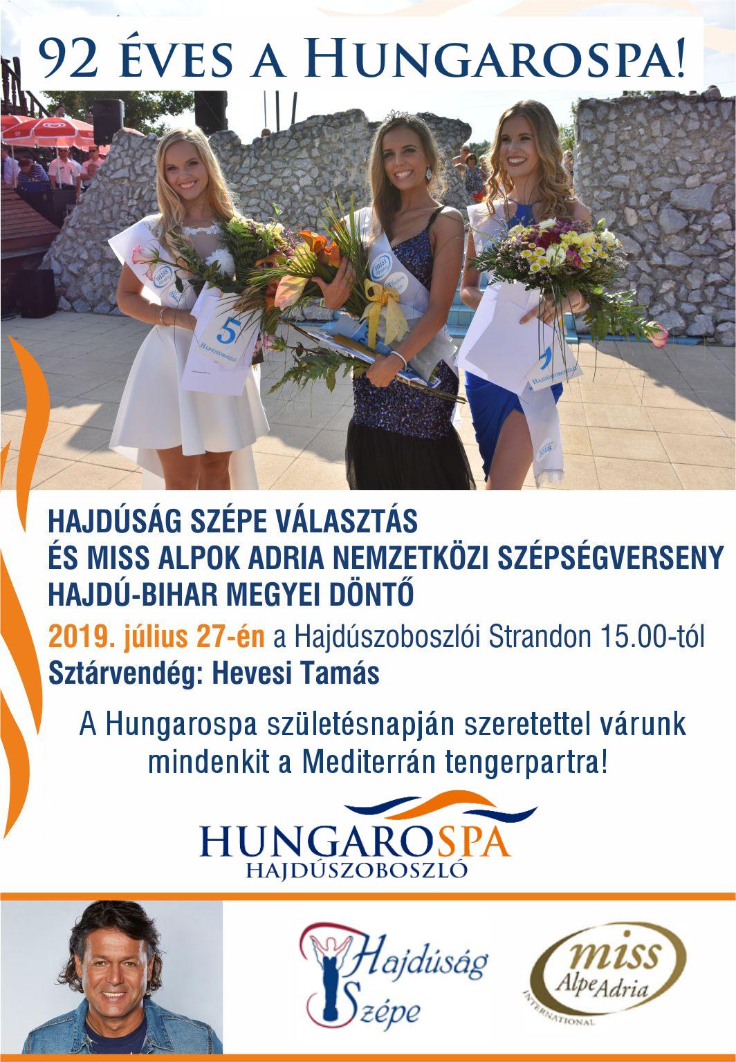 Hajdúság Szépe plakát 2019