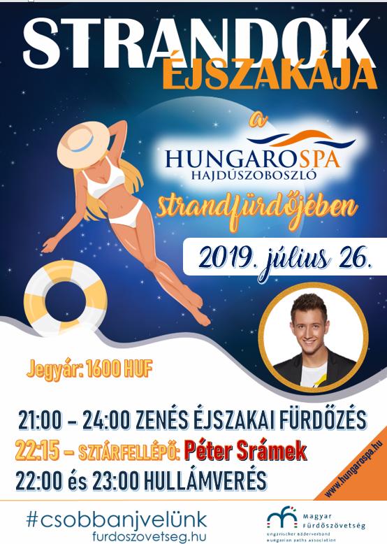 Strandok éjszakája plakát 2019