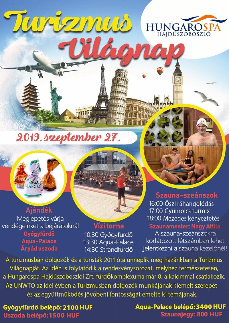 Turizmus Világnap 2019 plakát 800