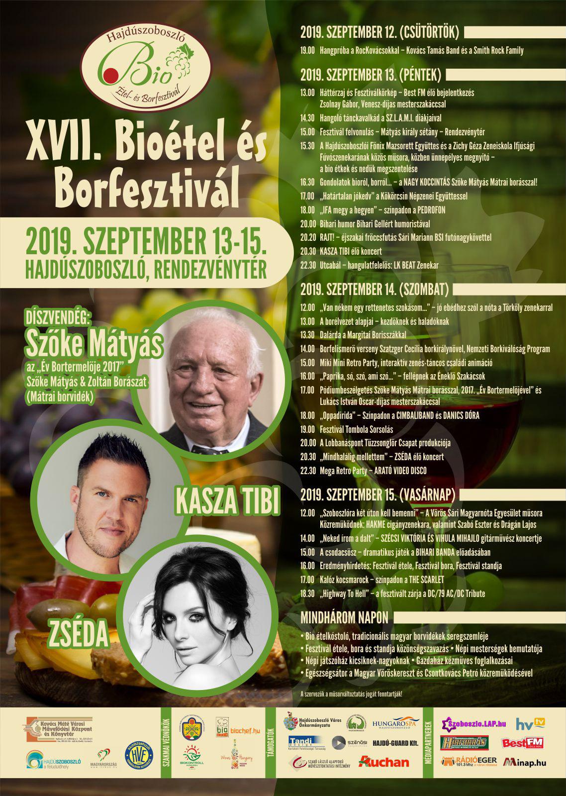 bioétel plakát 2019
