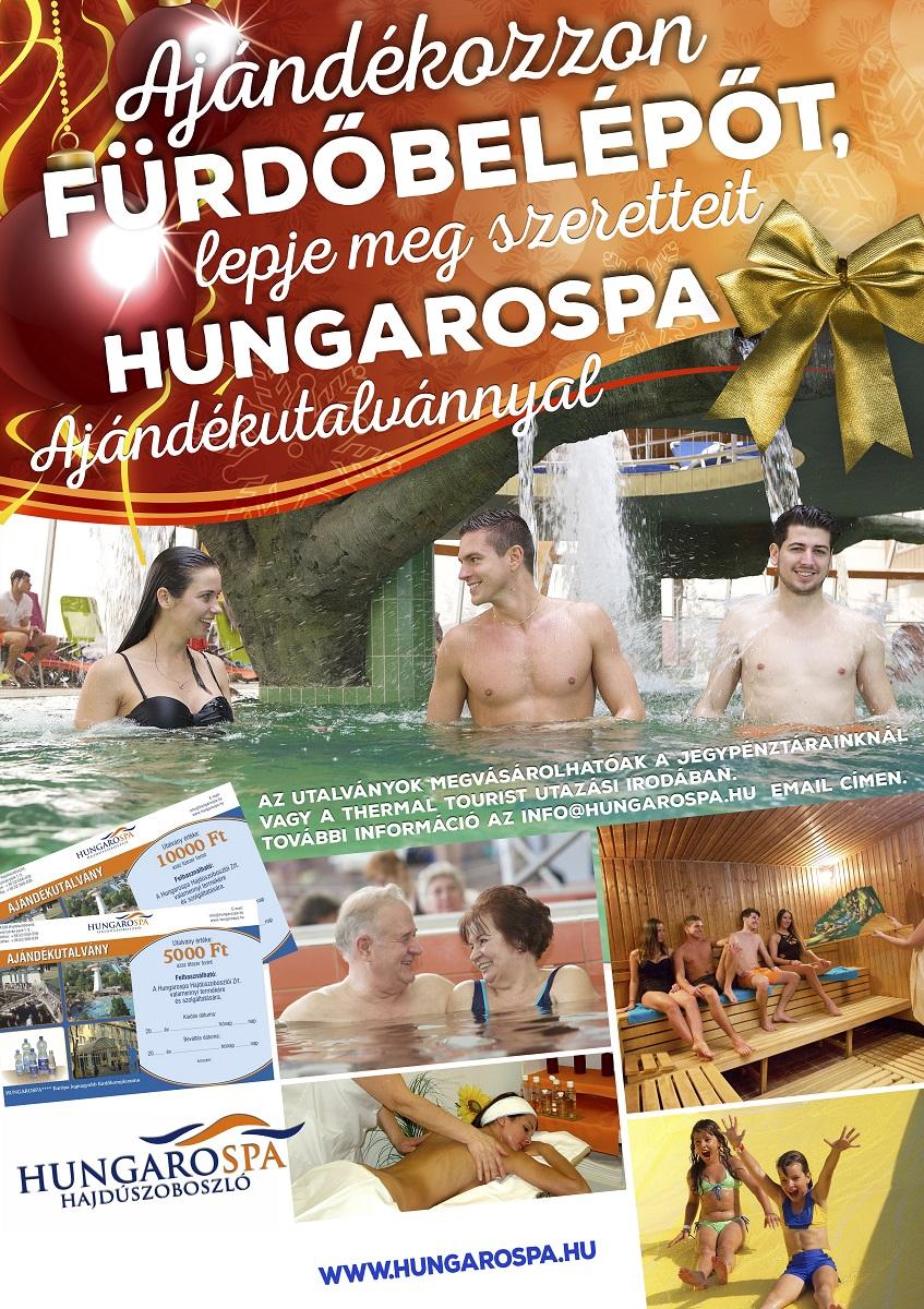 Ajándékozzon fürdőbelépőt - Hungarospa 2019