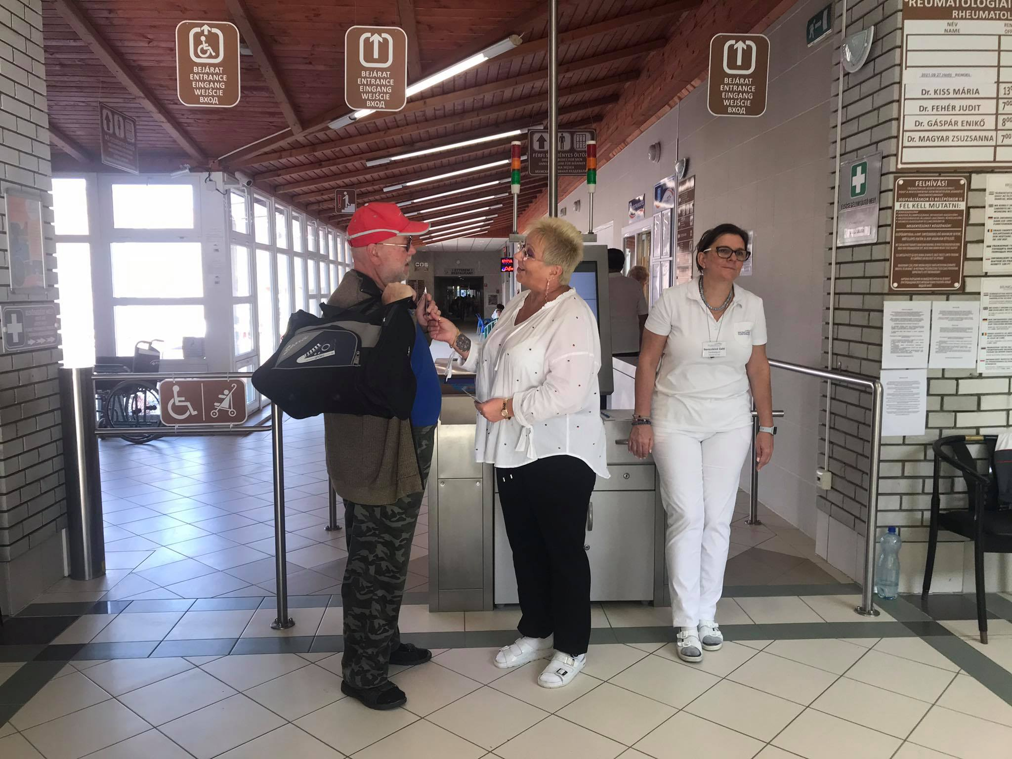 Turizmus vilagnap  a hungarospaban